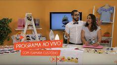 Programa Ao Vivo com Isamara Custódio | Vitrine do Artesanato na TV