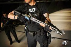 Mesa Tactical, Tactical Shotgun, Pump Action Shotgun, Mossberg 500, Personal Defense, Picatinny Rail, Leo, Clamp, Zombies
