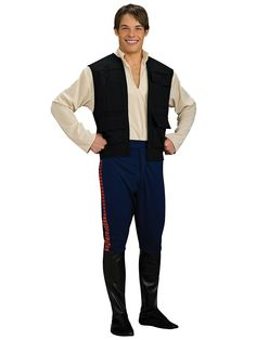 Deluxe Han Solo Costume | Mens Star Wars Halloween Costumes