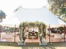 Wedding Ceremony Arch, Tent Reception, Marquee Wedding, Outdoor Wedding Reception, Wedding Receptions, Outdoor Ceremony, South Carolina, Perfect Wedding, Dream Wedding