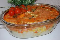 O kuchni z uczuciem : Ryz zapiekany z warzywami