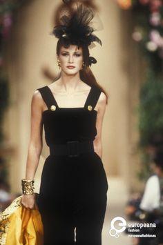 Yves Saint Laurent, Autumn-Winter 1992, Couture