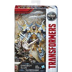 Hasbro Transformers: The Last Knight Premier Edition Deluxe – Dinobot Slug - Transformers, The Last Knight