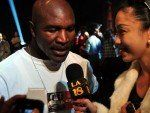 Former heavyweight boxing champion Evander Holyfield arrived in Manila early Wednesday morning to lead humanitarian efforts for children in typhoon-affected areas in Mindanao.