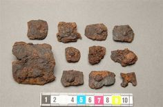 Gauntlet Fragments, Historiska Museet, Stockholm ref_arm_1333 Date: 1340