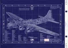 This site sells blueprints of vintage aircraft and engines.