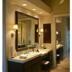 Master bathroom paint color ideas - Pwdr Room On Pinterest Pot Lights Vanities And Grey Ceiling Paint