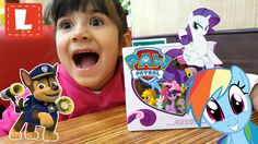 Распаковка и Обзор Новые Игрушки !TOYS FOR KIDS! My Little Pony. Paw pat...