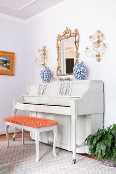 Updated piano with a