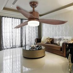 Proud EF48122 3woodceilingfanwithlight and remote | Ceiling Fan Dc Ceiling Fan, Ceiling Lights, Modern Ceiling, Wood Ceilings, Save Energy, Remote, Bulb, Indoor, Traditional