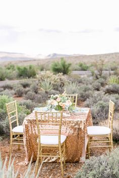 Goldener Wüsten-Glamour