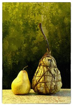A Pair of Pears by Creatography on Etsy, $48.99