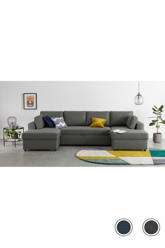 Aidian Large Corner Sofa Bed With