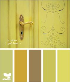 a door yellow