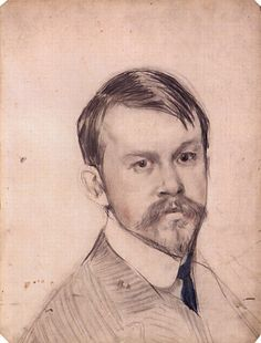 Self Portrait, 1902  Boris Kustodiev Looks just like my cousin Danny!  Must have some Cope blood in him.
