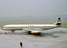 BOAC Comet 4 at Manchester after diverting from a foggy Heathrow when operating their schedule from Johannesburg with intermediate stops. - Photo taken at Manchester - International (Ringway) (MAN / EGCC) in England, United Kingdom on December British Airline, British Airways, Aircraft Images, Aircraft Pictures, Aeropostale, De Havilland Comet, Passenger Aircraft, Cargo Airlines, Photos Of Eyes