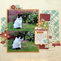 Charlies Choice - Daphne - dapfniedesign - with Simple Stories Harvest Lane