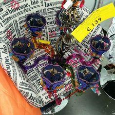 lampadario #gipsy fatto con perline  #bellissimo #spazioliberocosetoghedalmondo