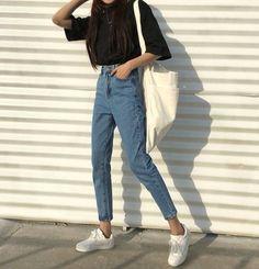 Stylish ideas for korean fashion outfits 900 - Fashion Trends Korean Fashion Trends, Korean Street Fashion, Asian Fashion, Look Fashion, 90s Fashion, Trendy Fashion, Fashion Outfits, Fashion Ideas, Korea Fashion