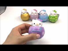 Hello Kitty Egg Squishy - Purple Flower by Sanrio