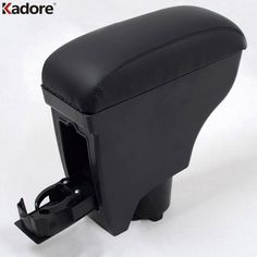 For Toyota Vitz Yaris Belta 2005-2011 2TH GE Leather Console Armrest Central Box Pad Car Inner Mat Plastic Arm Rest Seat Cover #Affiliate