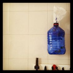 Recycle plastic bottle for my plastic bags