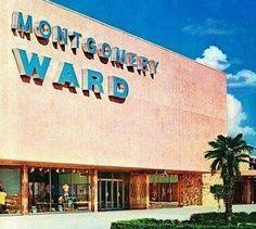 Montgomery Wards corner of F Street and Golden State Highway Bakersfield , California