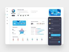 Classroom data designed by Grejory for Connect with them on Dribbble; Dashboard Interface, Web Dashboard, Dashboard Design, Ui Web, Interface Design, Responsive Web, Web Ui Design, Best Web Design, Web Design Company
