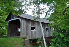 "Not necessarily a ""true"" covered bridge in the classic sense of the term in that it was never intended to carry traffic, the MacMillan Covered Bridge was constructed in 1967 by the non-profit organization which refurbished much of Grafton village."