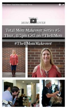 Watch episode 5 of Total Mom Makeover with Stacy Molter on her before and after mommy makeover transformation on Thursday, 8/7pm CST on The It Mom