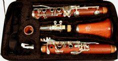 Redwood clarinet.