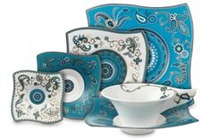 Samarah turquoise by Villeroy & Boch