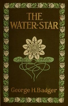 Green Cottage •~• vintage book, The Water-Star, 1907