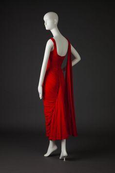 Silk Chiffon, Silk Dress, Frock Coat, 20th Century Fashion, Chiffon Evening Dresses, Illustrations, Frocks, Retro Fashion, Style Inspiration