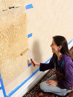 Temporary DIY Wall Treatment Ideas For Renters