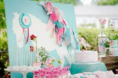 Fiesta de cumpleaños inspirada en los Ponys