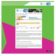 """26/02/2013 - """"Cinco itens para um corpo belo e saudável"""" - Andrea Mognon - assessoria de imprensa - beleza - saúde"""