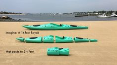 PAKAYAK goes everywhere, stores anywhere. Carry it on your back, take it in your car. Paddle it like a traditional hard-shell kayak.