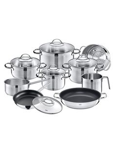 Achat Stainless Steel Cookware Set (14 PC) by WMF at Gilt