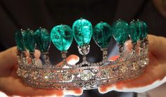 Tiara belonging to wife of Napoleon III.  Not even that pretty...but still at $12,830,000.00....yes, I'd take it!!!
