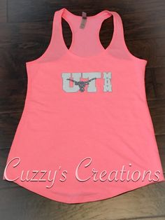 workout tanks with vinyl lettering ut mom tank with glitter htv