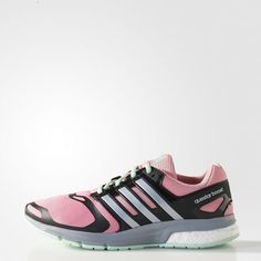 Tênis Questar BOOST TECHFIT Feminino - Super Pop adidas  34fe88b9563cc