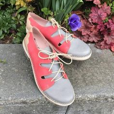 Woman Color Block Split Joint Lace-up Low Heel Sneakers Loafers – cuteshoeswear loafers outfit fall loafers with socks loafers style loafers for women outfit cute loafers Loafers For Women Outfit, Loafers Outfit, Casual Loafers, Sneaker Heels, Loafer Shoes, Sneakers, Loafers With Socks, Low Heels, Lace Up