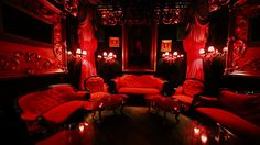 Red light bedroom lofty design red light room beautiful decoration chill out in at Bedroom Lighting, Bedroom Decor, Light Bedroom, Speakeasy Decor, Neon Rouge, Nightclub Design, Goth Home Decor, Neon Aesthetic, Red Rooms