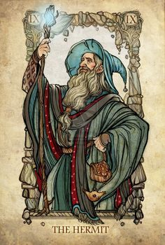 A russa SceithAilm criou um tarot baseado nos personagens do Senhor dos Anéis