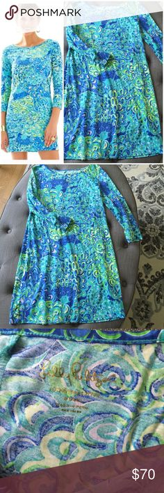 LILLY PULITZER MARLOWE DRESS LILLYS LAGOON Lilly Pulitzer Marlowe dress in Lilly's Lagoon. Size Small, never worn, mint condition.  💋 Reasonable offers welcome 〰 ALL measurements are approximate  🚫 Sorry, NO trades ❗️NO MODELING pics 📦 Ships w/in 24 hrs 👌🏼 Lilly Pulitzer Dresses