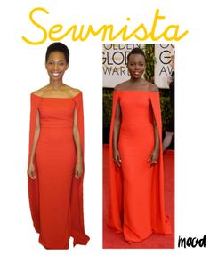 @msbobbinlove is our #sewnista this week for recreating #lupitanyongo 's #redcarpet hit!