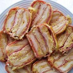 Sonkás-sajtos rakott csirkemell Receptek a Mindmegette. Paleo Chicken Recipes, Pork Recipes, Cooking Recipes, Healthy Recipes, Hungarian Recipes, Winter Food, Food And Drink, Bacon, Roasts