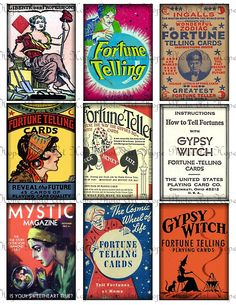 Vintage Fortune Teller Gypsy