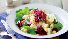 This nutritious salad is a fabulous source of vitamin C, beta carotene and fibre.